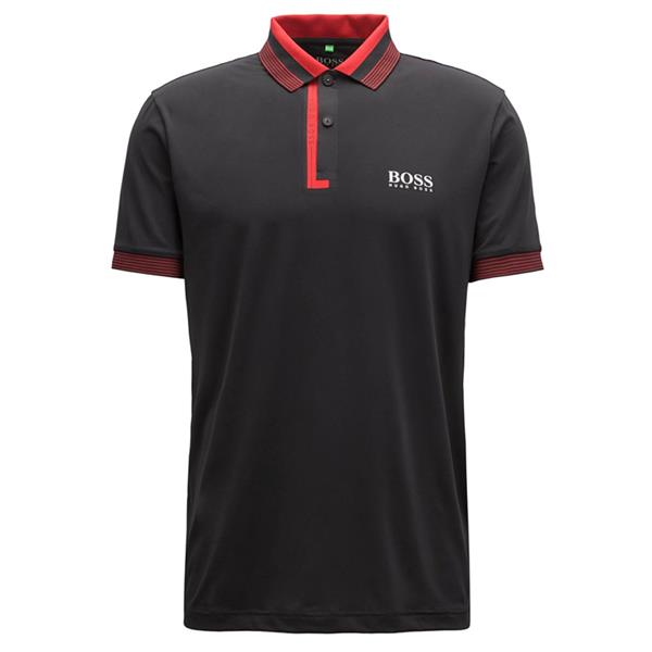 big selection of 2019 attractive price best price Hugo Boss Gents Paddy Pro 1 Polo Shirt Black