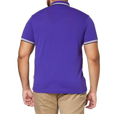 BOSS Gents Cotton-Pique With Logo Under Collar Paddy Polo Shirt Blue 426