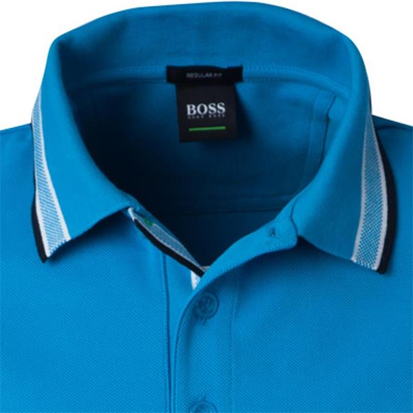 aaebd5a25 Hugo Boss Gents Cotton-Pique With Logo Under Collar Paddy Polo Shirt ...