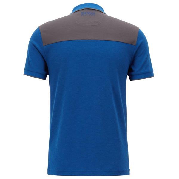 ed8e32535 Hugo Boss Gents PL-Tech Polo Shirt Light Blue