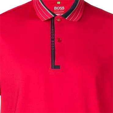 Hugo Boss Gents Paddy Pro 1 Polo Shirt Red