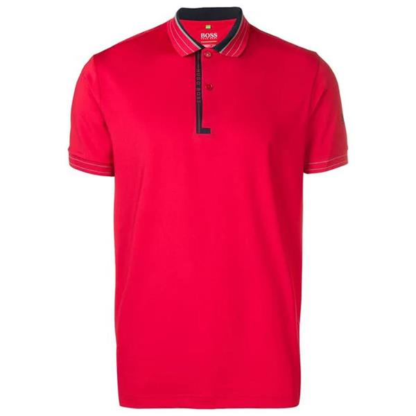 harmonious colors fashion design cheap for sale Hugo Boss Gents Paddy Pro 1 Polo Shirt Red