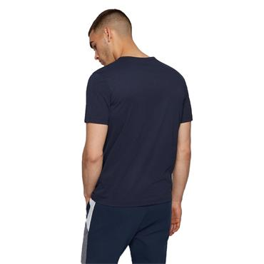 BOSS Gents Cotton Jersey T-Shirt Navy