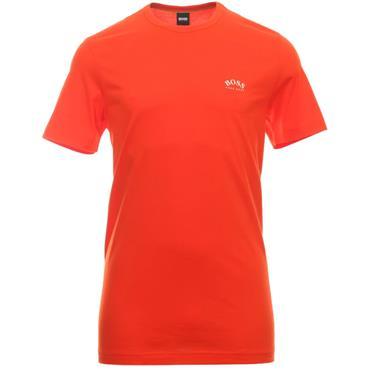 BOSS Gents Cotton Jersey T-Shirt Orange