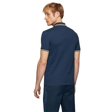 BOSS Gents Paul Curved Polo Shirt Navy 401