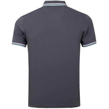 Hugo Boss Gents Paul Curved Polo Charcoal
