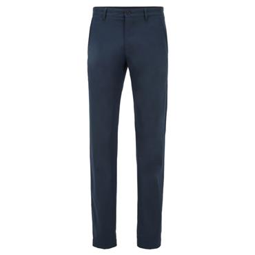 BOSS Gents Hakan Slim-Fit Trousers Navy