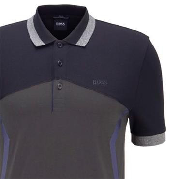 BOSS Gents Paule 8 Polo Shirt Navy