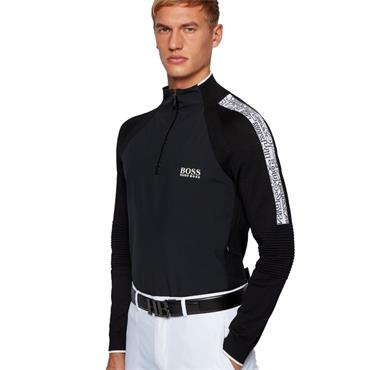 BOSS Gents Zalogo Sweater Black 001