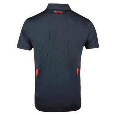 BOSS Gents Pauletech 1 Slim Polo Shirt Black 001