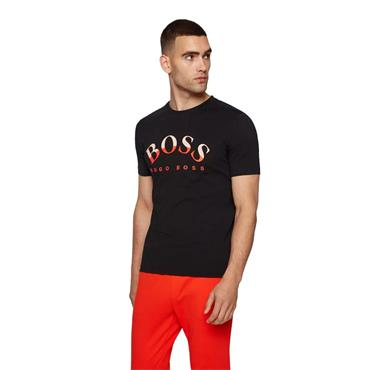 BOSS Gents Cotton T-Shirt Black
