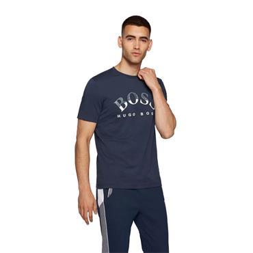 BOSS Gents Cotton T-Shirt Navy