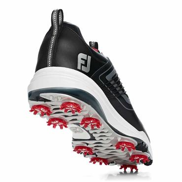 FootJoy Gents Fury Shoes Wide Black - Red