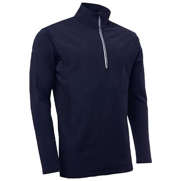 Abacus Junior Ashby 1/2 Zip Pullover Navy