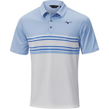 Mizuno Gents Quick Dry Oceanic Polo Blue Bell