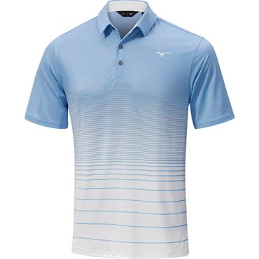 Mizuno Gents Quick Dry Mirage Polo Blue Bell
