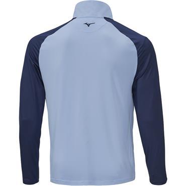 Mizuno Gents Quick Dry Breeze 1/4 Zip Top Blue Bell