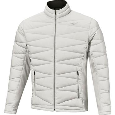 Mizuno Gents Techfill Jacket Vapour Silver