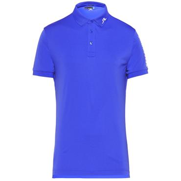 J.Lindeberg Gents Tour Tech Regular TX Polo Shirt Light Blue