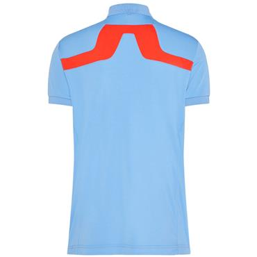 J.Lindeberg Gents KV Reg TX Jersey Polo Shirt Blue