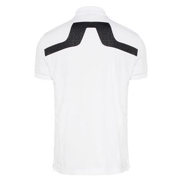 J.Lindeberg Gents KV TX Jersey Polo Shirt White