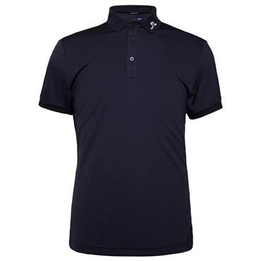 J.Lindeberg Gents KV Reg TX Jersey Polo Shirt Navy