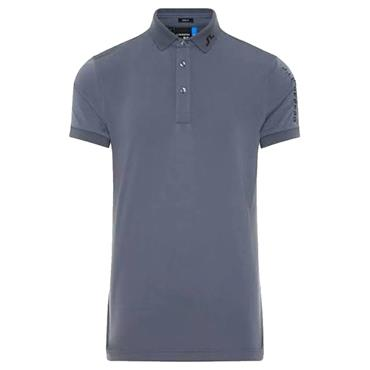 J.Lindeberg Gents Tour Tech Slim TX Jersey Polo Shirt Grey 6642