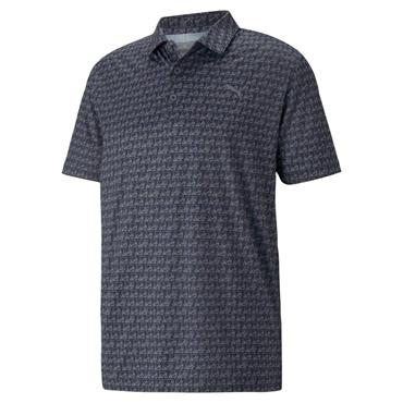Puma Gents MATTR Carts Polo Shirt Navy Blazer - Quiet Shade