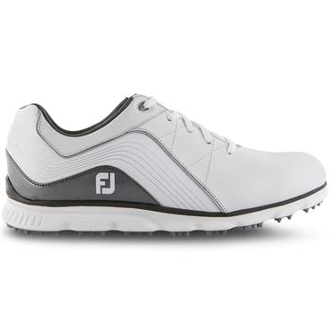 FootJoy Pro SL Golf Shoes Gents Wide Fit White - Grey