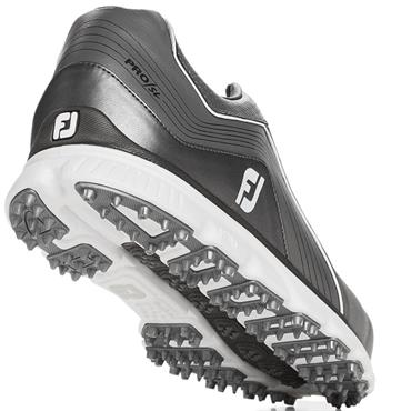 Footjoy Gents Pro SL Golf Shoes Medium Fit Grey - White