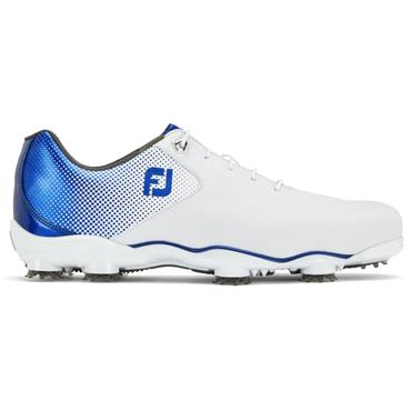 FootJoy Gents DNA Helix Shoes Wide Fit White - Blue