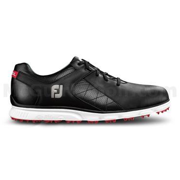 FootJoy Gents Pro SL Golf Shoes Wide Fit Black - White