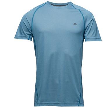 J.Lindeberg Gents Active Elemets T-Shirt Strong Blue