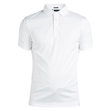 J.Lindeberg Gents David Slim TX Jersey Polo Shirt White