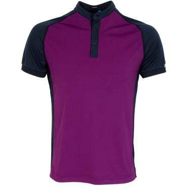 J.Lindeberg Gents Edward Slim TX Jersey Polo Shirt Purple