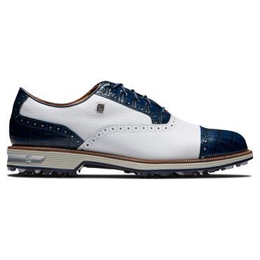 FootJoy Gents Premiere Tarlow Shoes Medium Fit Navy - White