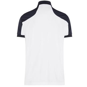 J.Lindeberg Gents Mateo Reg TX Jersey Polo Shirt White