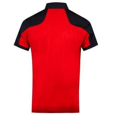 J.Lindeberg Gents Mateo Reg Fit TX Coolmax Polo Shirt Red