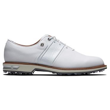 FootJoy Gents Premiere Packard Shoes Wide Fit White