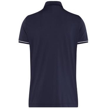 J.Lindeberg Gents Petr Regular TX Jersey Polo Shirt Navy