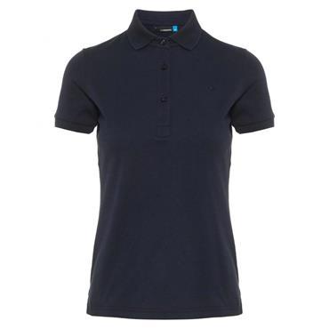 J.Lindeberg Ladies Petsy Cotton-Poly Polo Shirt JL Navy