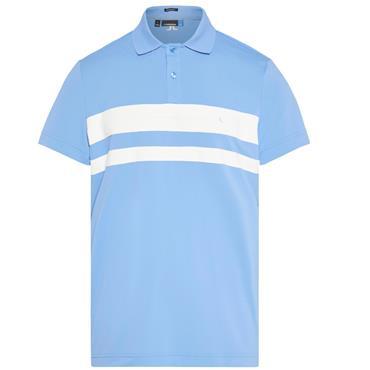 J.Lindeberg Gents Craig TX Torque Polo Shirt Blue