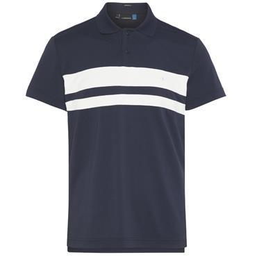 J.Lindeberg Gents Craig TX Torque Polo Shirt Navy