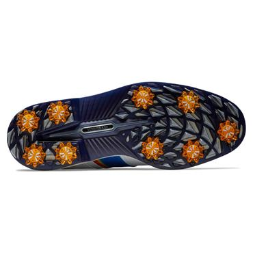FootJoy Gents Premiere Series Pacific Packard Shoe White - Navy - Orange