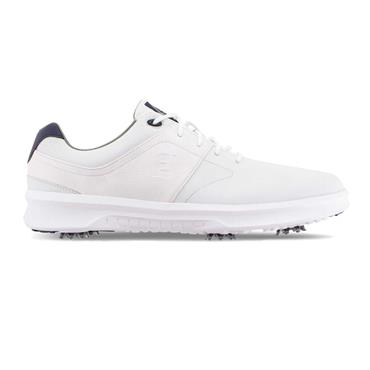 FootJoy Gents Contour Spiked Shoe Wide Fit White