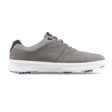 FootJoy Gents Contour Spiked Shoe Wide Fit Grey