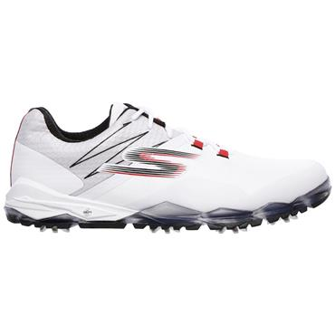 Skechers Gents Go Golf Focus Shoes White - Black - Red