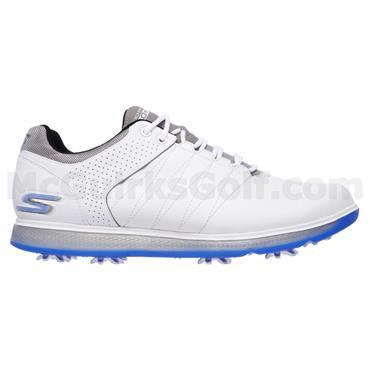 Skechers Gents Go Golf Pro 2 Shoes White - Grey - Blue