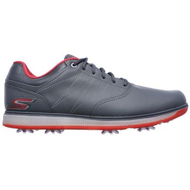 Skechers Gents Go Golf Pro V.3 Shoes Charcoal - Red
