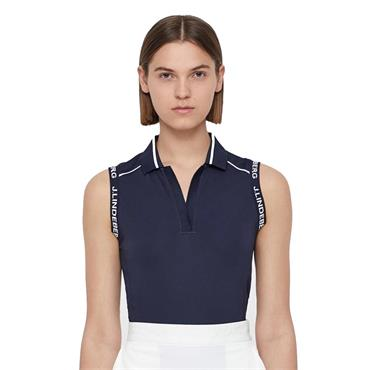 J.Lindeberg Ladies Givana Sleeveless Top Navy